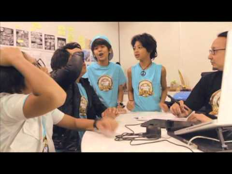 Behind The Sceen Paddle Pop BEGINS 2 with Coboy Junior