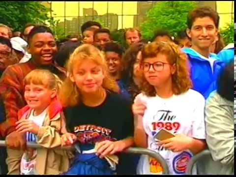 Detroit Pistons Victory Parade, June 15, 1989, Tape 3