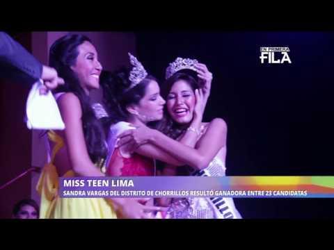 MISS TEEN PERU - LIMA 2017 EN RPP NOTICIAS