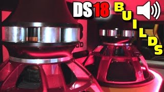 DS18 Troublemaker Sub w/ EXTREMELY Powerful Car Audio Installs @ SBN | Inverted TM-SN18 Subwoofer