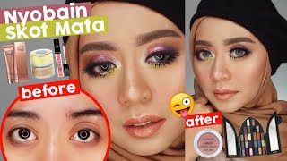 Download Video Tutorial Makeup pakai Produk Baru #1 | Pake Skot Mata, KatVon d, Lakme 9to5, City Color, Jcats MP3 3GP MP4