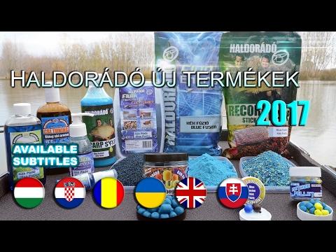 New Haldorádó Products - 2017
