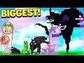 5 BIGGEST MINECRAFT BOSSES!
