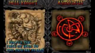 MACE: The Dark Age - Hellknight vs (Lord Deimos, Grendal, Asmodeus)