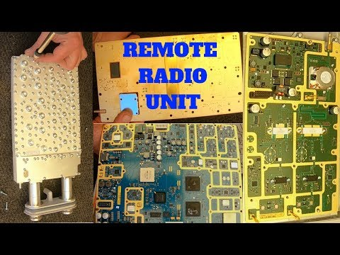 Remote Radio Unit Teardown - Gold Recovery Boards