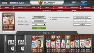 FIFA 12 Ultimate Team Quick Money Making Method