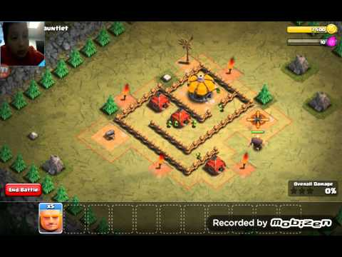 REALLY LONG ARCHER SHOOTING- Clash of Clans Part 2