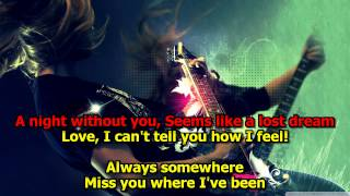 Always Somewhere - Scorpions (Karaoke) HD