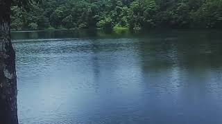 menikmati danau rana mese... wow..wow