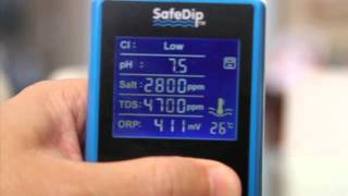 SafeDip 6 in 1 Digital Chemistry Reader