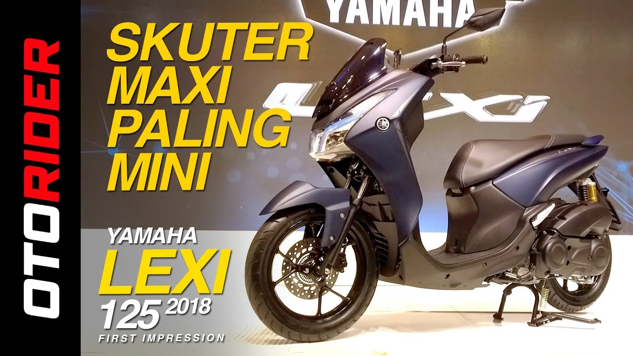 Yamaha Lexi 2018 First Impression Review Indonesia Otorider Youtube