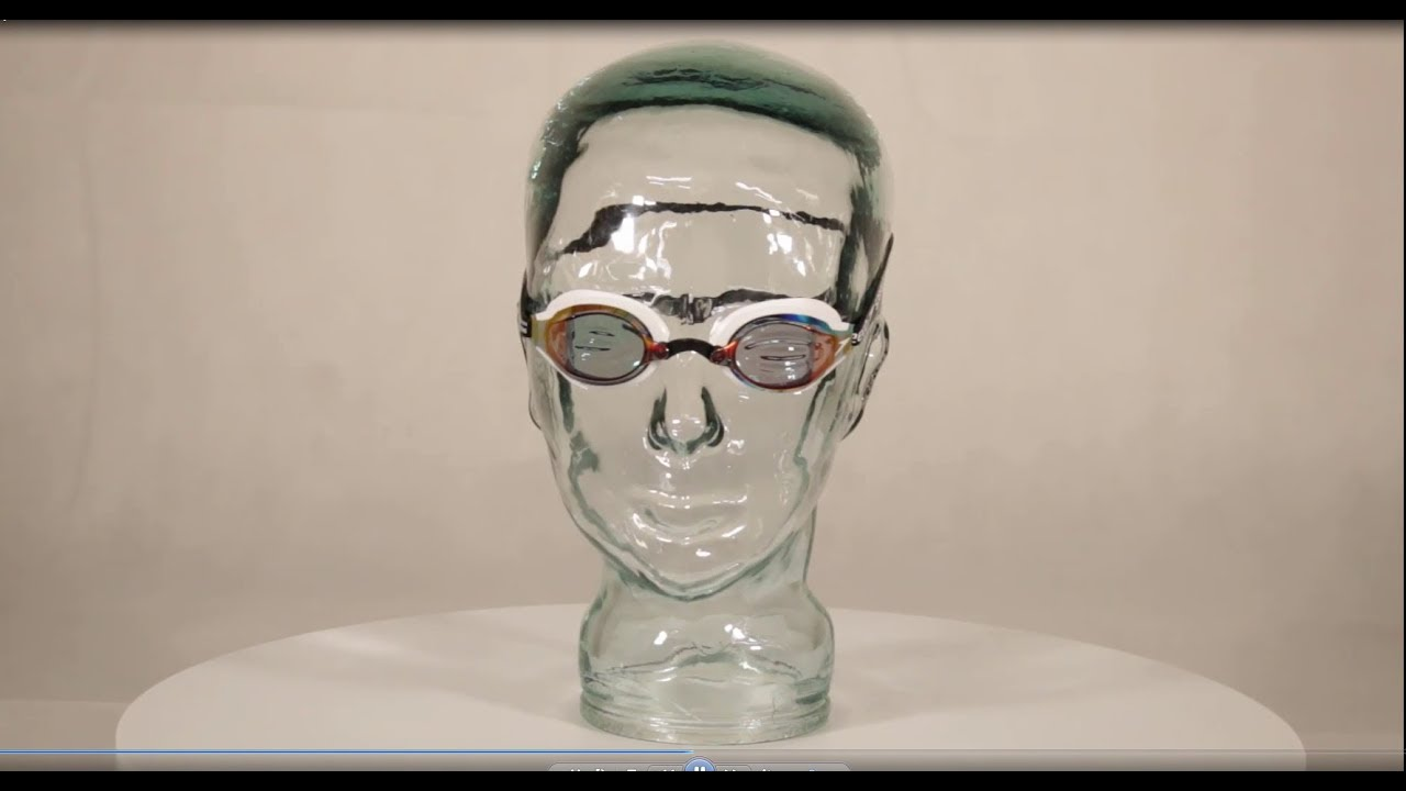 b707ecd72b5f9 Speedo Fastskin Speedsocket 2 Mirror Swimming Goggles White/Copper ...