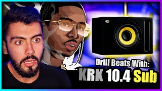 Testing Out NEW KRK 10.4 Sub To Make a Pop Smoke Type Beat