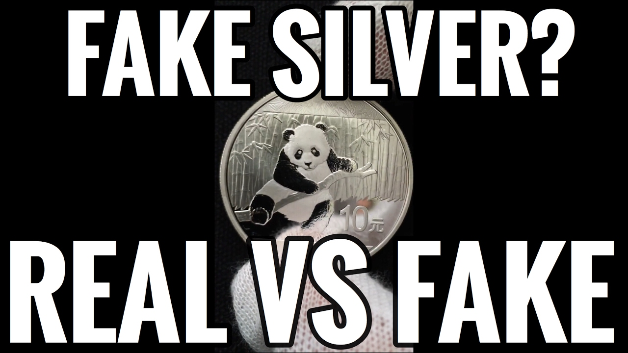 Fake Silver Pandas How To Tell Between A Counterfeit And