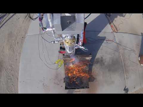 SDSU Rocket Project- FAR/Mars Static Hot Fire Engine Camera
