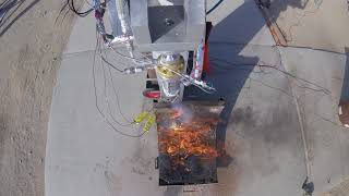 SDSU Rocket Project- FAR/Mars Static Hot Fire Engine Camera