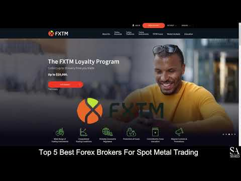 TOP 5 BEST FOREX BROKERS FOR SPOT METAL TRADING (revealed ) 🔎