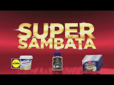 Super Sambata la Lidl • 4 August 2018