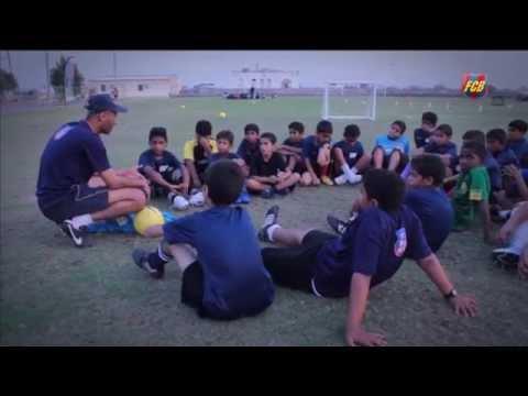 Fundació FC Barcelona - 'FutbolNet' in Oman, sport & values
