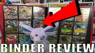 POKEMON BINDER COLLECTION REVIEW