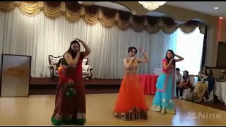Indian punjabi wedding dance songs performance - brampton canada 2015