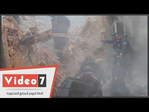 كوارث انهيار العقارات تنتقل إلى الصعيد  - نشر قبل 12 ساعة