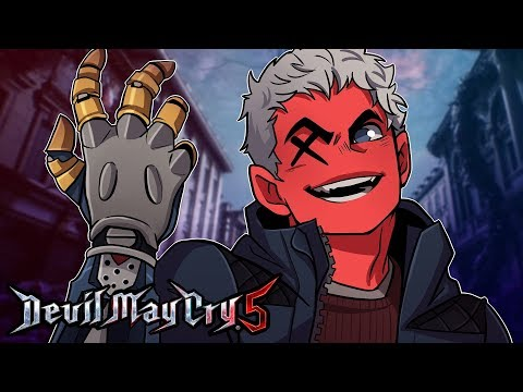 DADDY GOT A NEW ARM! | Devil May Cry 5 (Episode 2) thumbnail