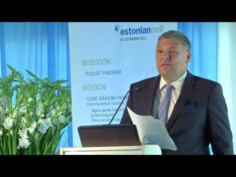 ESTONIAN CELL'I TÖÖSTUSFOORUM / ettekanne Marko Pomerants