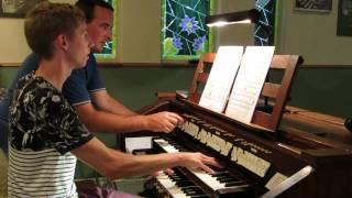 A. Dvorák - Adagio Allegro molto - symfonie no. 9 part 1 - Orgelzaal Booy
