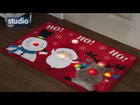 Studio - LED Christmas Door Mat