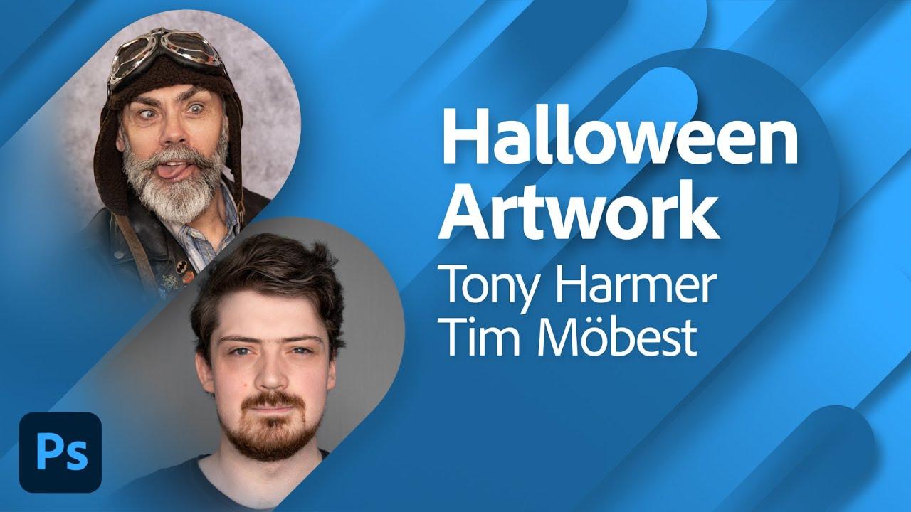 Halloween Artwork with Tony Harmer and Tim Möbest | Adobe Live