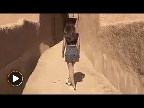 Model in miniskirt causes a stir in Saudi Arabia