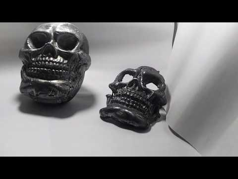 How to make a Skull on Metal welding  كيف تصنع جمجمة بمعدن اللحام