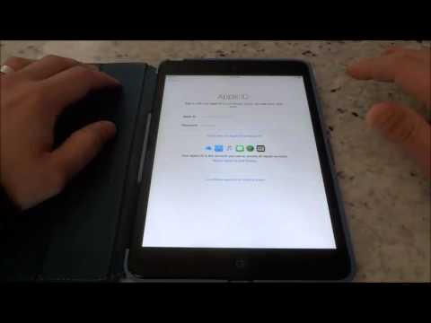 How To Setup An iPad Without An Apple ID (Tutorial)