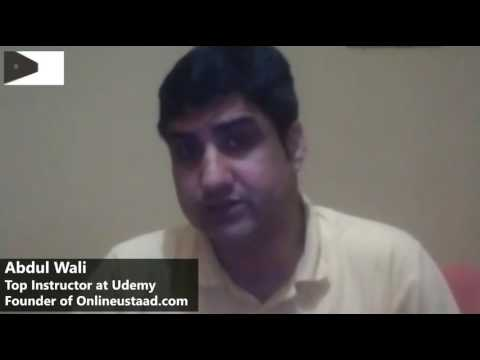 Exclusive Interview with Abdul Wali  |  From Biryani Wala to Caror Patti  | Udemy Top Instructor  |