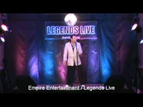 James Gibb As Elvis - Empire Entertainment / Legends Live