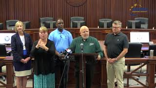 Press Conference Hurricane Florence 9/10/2018