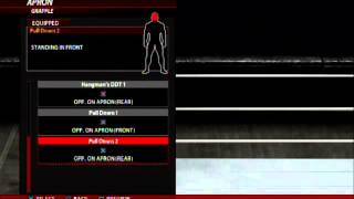WWE 2K16 CHRIS BENOIT MOVESET(XBOX 360/PS3)