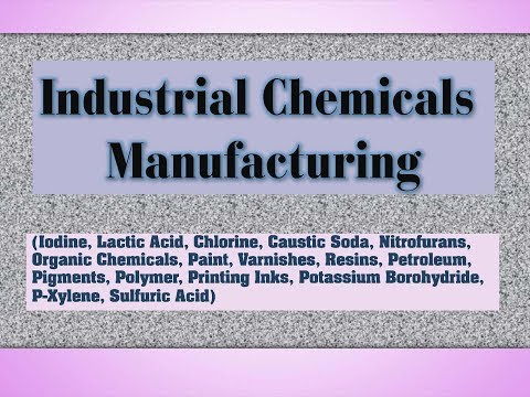 Industrial Chemical Manufacturing Business. Profitable Chemical Business Ideas