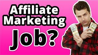 Affiliate Marketing jobs? How To Get a High Paying Online Affiliate j⃣o⃣b⃣..