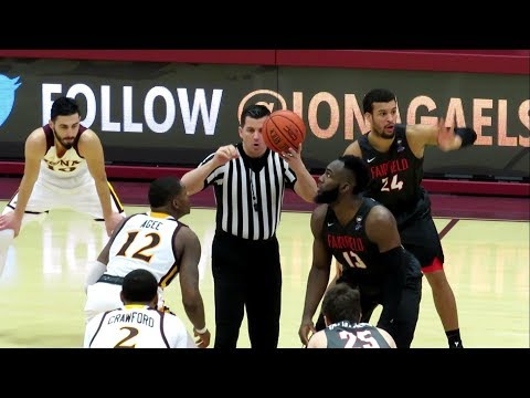 Fairfield Stags Vs Iona Gaels - Men's Basketball Game - Video Highlights - January 05, 2019