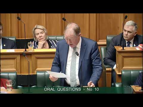 Question 10 - Eugenie Sage to the Minister for the Environment