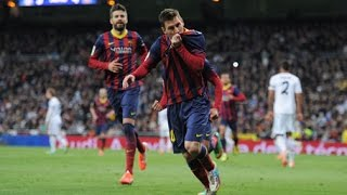 Lionel Messi Second Goal - Real Madrid vs Barcelona 2-3 [All Goals & Highlights HD]