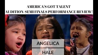 Angelica Hale MADE me CRY! AMERICA'S GOT TALENT #JANGReacts