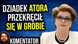 Dziadek Atora Przewraca Się w Grobie - Mega Skandal w Warszawie - Komentator