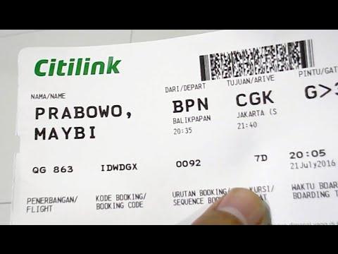 Citilink Qg 863 A320 200 Balikpapan Jakarta Night Flight Part 1 2 Youtube