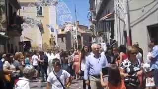 Video processione Madonna del Carmine 2015 Laurenzana 16 luglio 2015