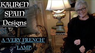 A 'VERY FRENCH' Lamp: In Memoriam to My Friend Rachel Hirschfeld