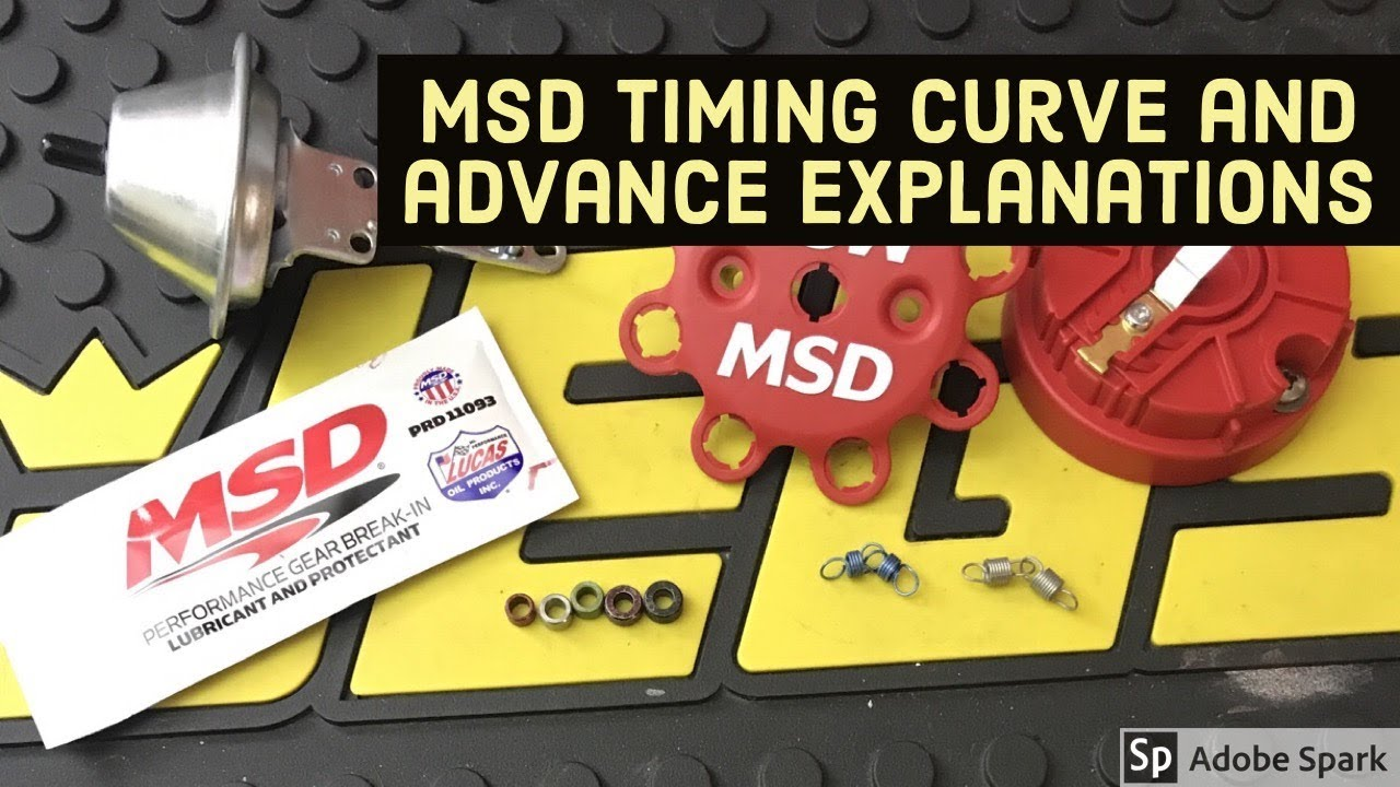Changing and Explaining Timing Curve on MSD Distributor