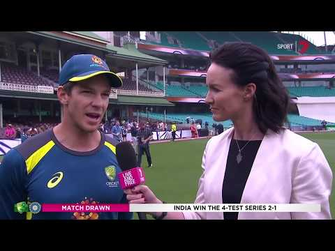 Australia v India | Tim Paine interview